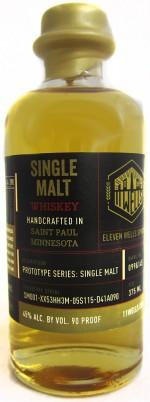 Buy 11 Wells Peated Single Malt Whiskey Online