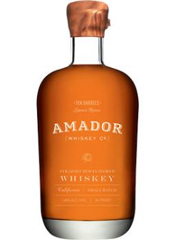Buy Amador Ten Barrels Straight Hop Flavored Whiskey Online