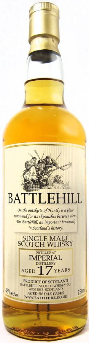 Buy Battlehill Imperial 17 Year Old Single Malt Scotch Online