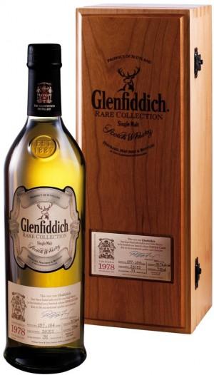 Buy Glenfiddich 1978 Rare Cask 36 Year Old Single Malt Scotch Online