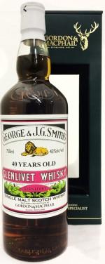 Buy Gordon & MacPhail Speymalt Glenlivet 40 Year Old Single Malt Scotch Online