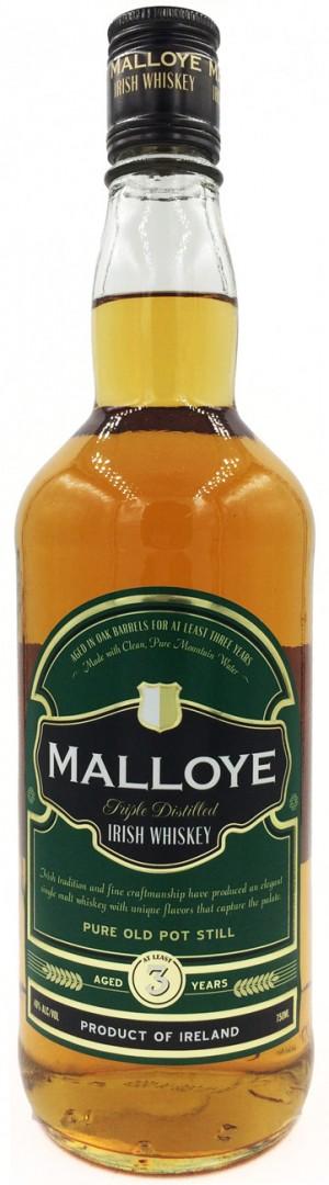 Buy Malloye 3 Year Old Irish Whiskey Online