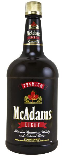 Buy Mcadams Light Canadian Whiskey Online