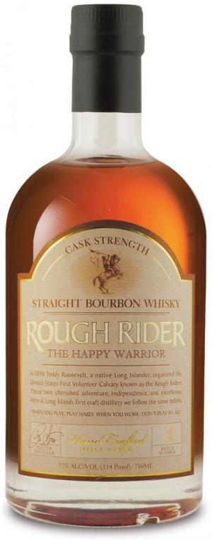 Buy Rough Rider the Happy Warrior Cask Strength Bourbon Online